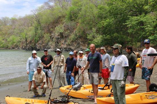 Ecoplaya Beach Resort: Kayak Fishing