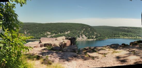Wheeler's Campground: Devil's Lake State Park West Bluff view 2