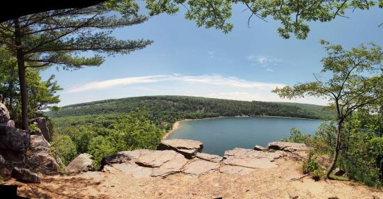 Wheeler's Campground: Devil's Lake State Park East Bluff view 3