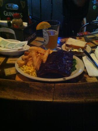 Taylor & Dunn's Public House: Poor quality photo, but perfect quality meal!