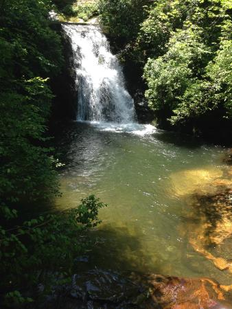 Blue Hole Falls Picture Of High Shoals Falls Trail Hiawassee