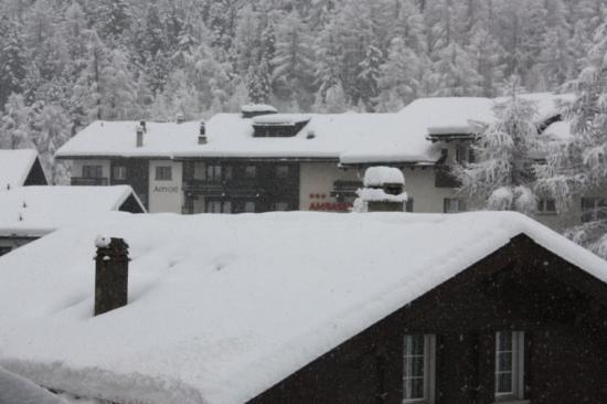 Perfect skiing destination - Saas Fee