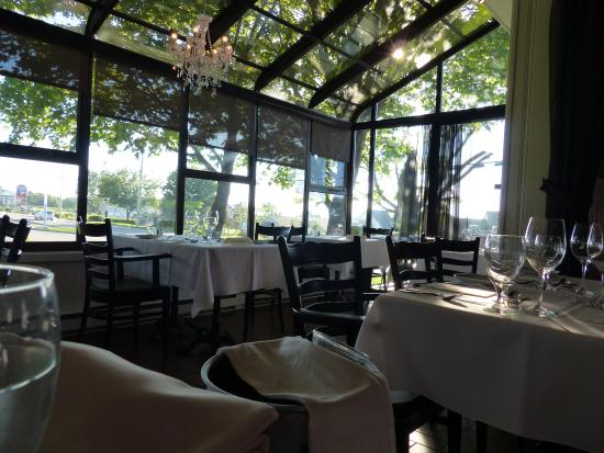 Restaurant Le Saint-Patrice: Partie verrière du resto