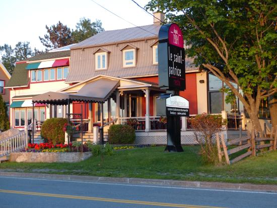 Restaurant Le Saint-Patrice: Facade du resto
