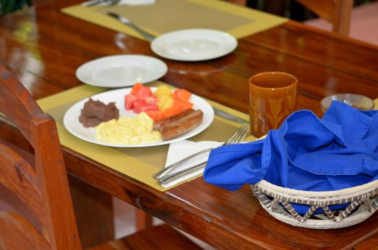 San Antonio, Belice: Typical Breakfast
