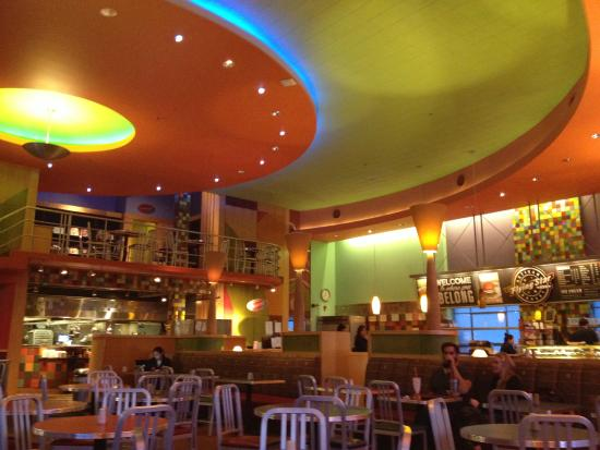 Interior View Of Flying Star Cafe Downtown