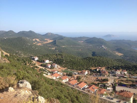 Bilgin Hotel: Kas view from the mountain