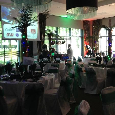 The Function Room Decked Out In A Caribbean Style