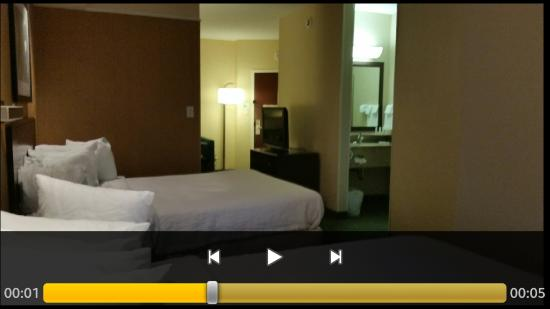 SpringHill Suites Savannah Airport: Bed