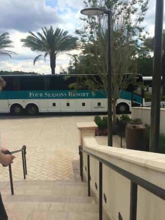 The Shuttle Bus Picture Of Four Seasons Resort Orlando At Walt Disney World Resort Tripadvisor