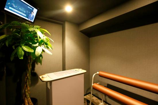 Dormy inn Premium Shibuya Jingumae: Smoking booth