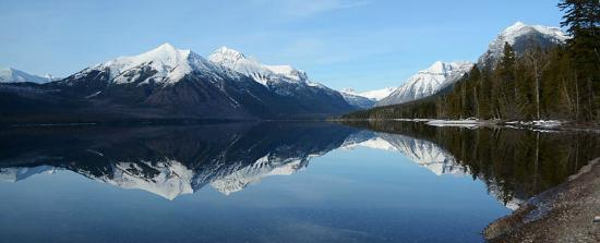 Columbia Falls, MT: Lake McDonald, the jewel of Glacier's west side.