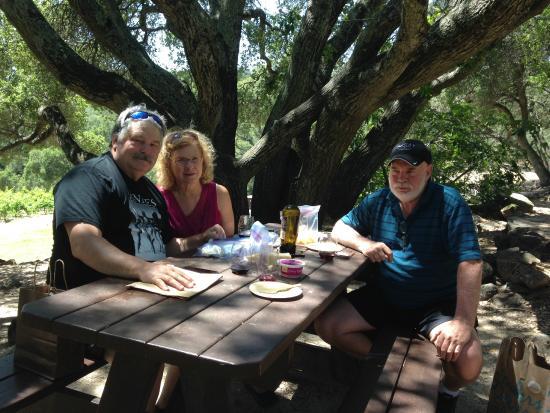 Bartholomew Park Winery: Quiet picnic site