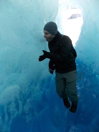 Viedma Glacier: Caverna de gelo no Viedma