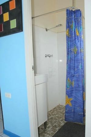 Tandarra Lodge Kangaroo Island : Ensuite shower