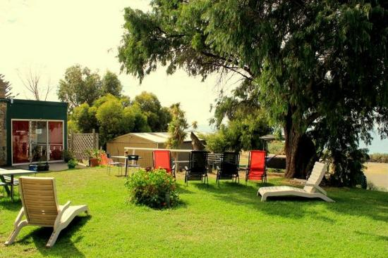 Tandarra Lodge Kangaroo Island : View of the garden