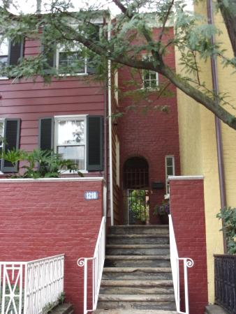 District of Columbia: housing in Georgetown 1800.s D.C
