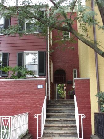 โคลัมเบีย: housing in Georgetown 1800.s D.C