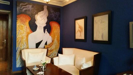 Hotel & Spa Le Doge: One of the rooms' artworks