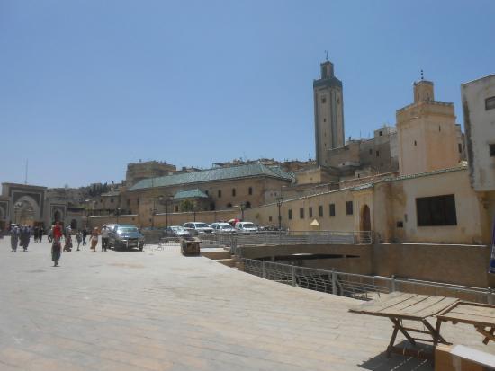 medina of fez square near bab jdid