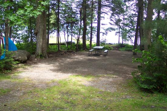 Casey's Spencer Bay Camps: site B-3