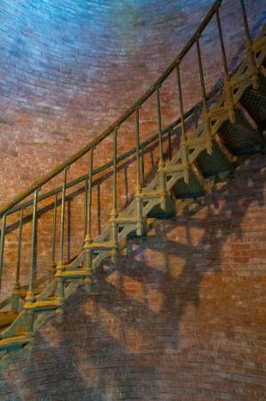 Southeast Lighthouse: Cast Iron Staircase
