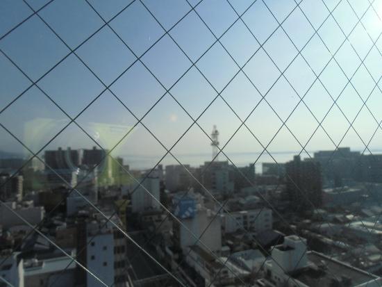 Toyoko Inn Kyoto Biwako Otsu : 部屋から琵琶湖