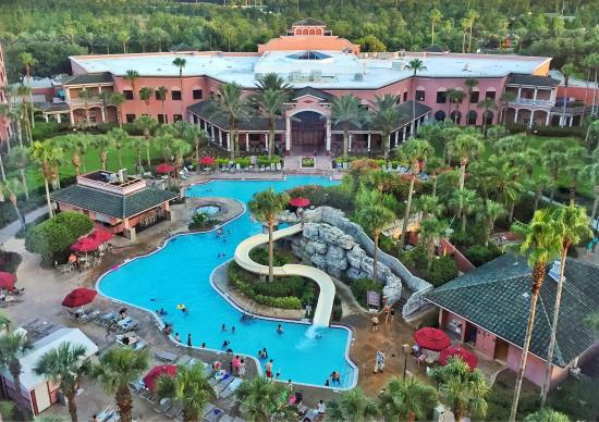 Caribe Royale Orlando Pov From The 9th Floor