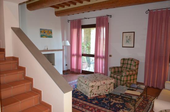 Montespertoli, Italia: Living Room in our Villa
