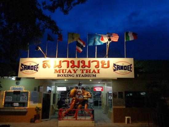 Thepprasit Thai Boxing Stadium