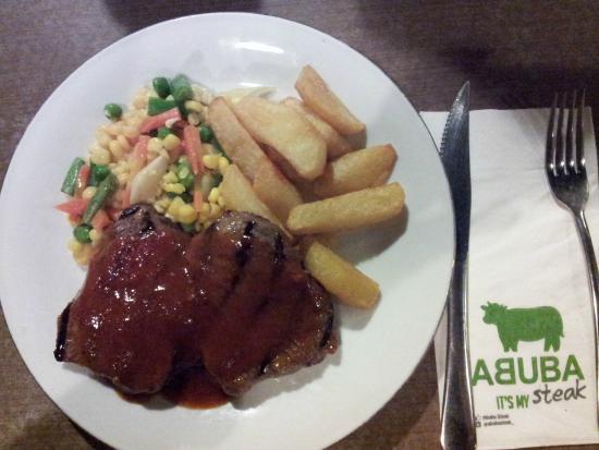 Abuba Steak: terderloin, tingkat kematangan medium