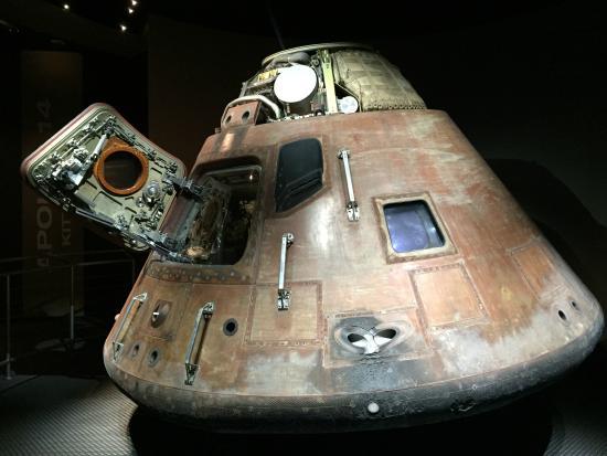 Space Coast, فلوريدا: Apollo Capsule