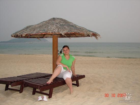 Resort Golden Palm: Пляж отеля.