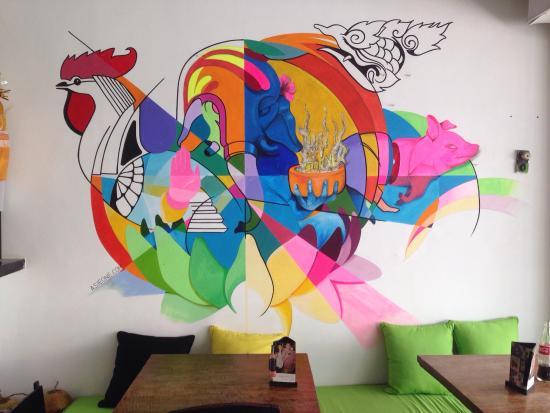 Thai Corner: Love the artwork