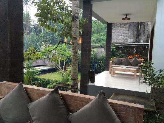 Private Terraces Picture Of The Bali Shanti Villa Ubud Tripadvisor