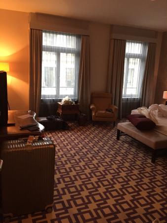 Alden Suite Hotel Splügenschloss Zurich: ベッドルーム