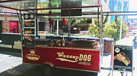 Wassup Dog Gourmet Hotdogs