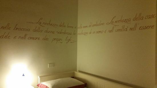 B&B Il Viandante Romano: La camera Hemingway.