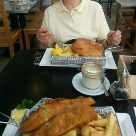 Seafish Cafe St Helier Menu
