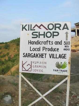 Mukteshwar, India: Kilmora shop
