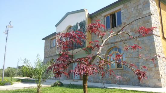 Hotel Lido di Orrì : L'hotel visto dal giardino