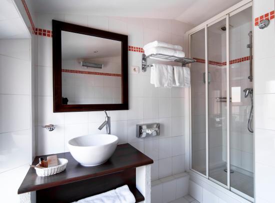 Hotel La Villa Tosca: Salle de bain