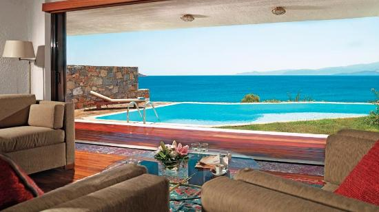 Elounda Mare Relais & Chateaux hotel: Princess Ariadni Royalty Suite with private pool