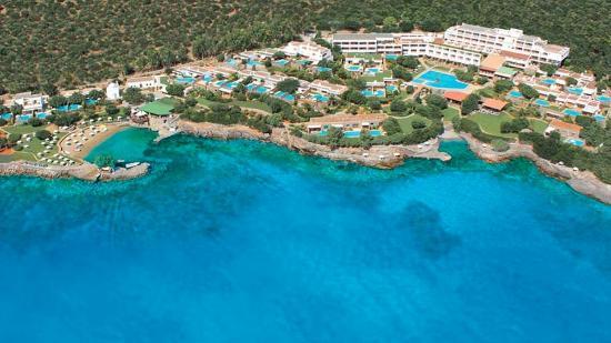 Elounda Mare Relais & Chateaux hotel: Elounda Mare aerial view