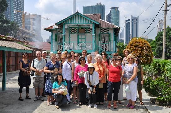 马来西亚古迹步行街