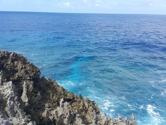 craggy rocks and amazing blue water - Picture of Togo ... - photo#2