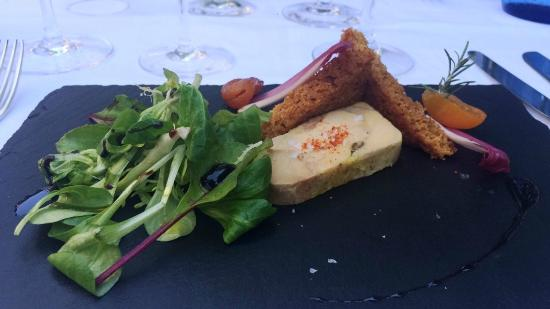 Le Relais Des Chartreuses: Entrée - Foie Gras