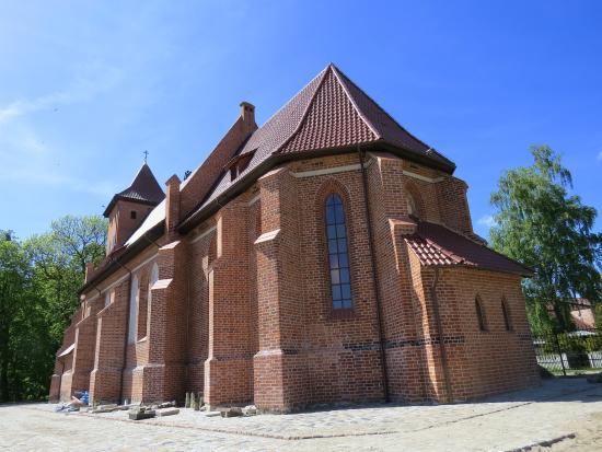 Kaliningrad Oblast, روسيا: Кирха Арнау