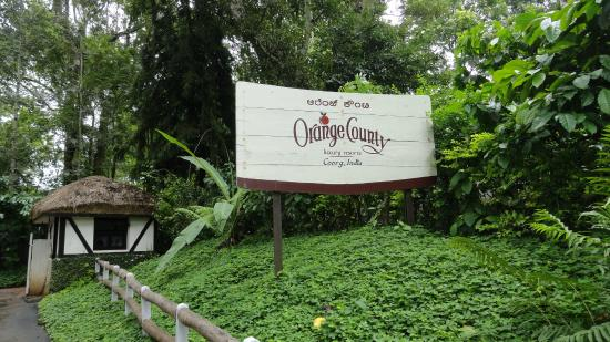 Orange County, Coorg: entry point