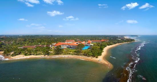 Moragolla, Sri Lanka: Arial View